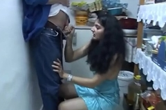Indian girl sucking hawt