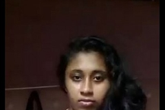 South Indian mallu girl Anjusha self made team of two leaked by her bf