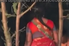 Andhra municipal Telugu hot married housewife aunties peeing at open space sex video