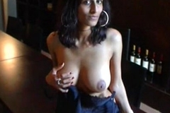 Indian girl amrita showing boobs be expeditious for money in USA