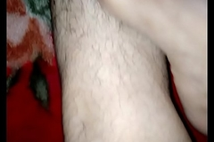 Indian feets hairy limbs rubbing