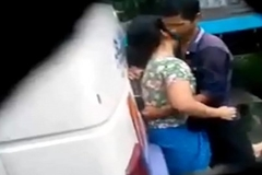 desi girl and crony sex in bus terminal Caught on listen in cam
