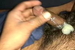 Indian boy jerking
