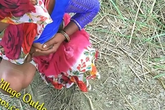 Indian Desi Girl Friend in Straightforwardly Feilds khet Village Outdoor Sex Sex In Jungal