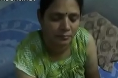 Indian desi mom gives very hot oily handjob to will not hear of son