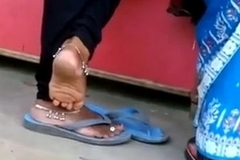 Indian trotters and soles teasing in public