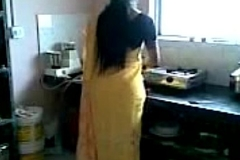 Indian saree ass