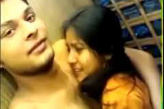 Slurps indian girl sex with second-class coworker in company tour