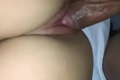 Young  Indian girl having sex with neighbour guy