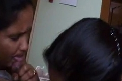 Mallu threesome home sex - 2 hot paid sluts oral - Indian Porn Videos.MP4