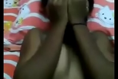 indian tamil Madurai college girl Kanmani fucking with steady old-fashioned