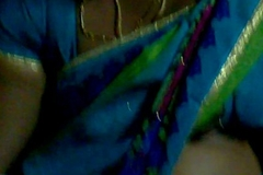 sleeping bus forth open blouse aunty telugu hooks